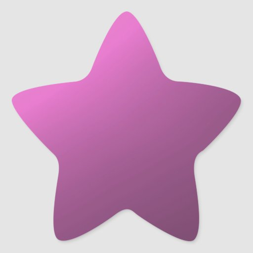 purple background star sticker