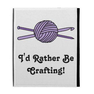 Purple Ball of Yarn (Knit & Crochet) iPad Case