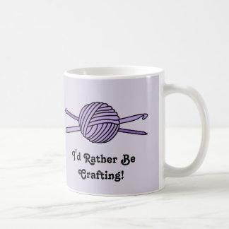 Purple Ball of Yarn (Knit & Crochet) Mug