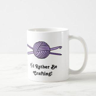 Purple Ball of Yarn (Knit & Crochet) Coffee Mug