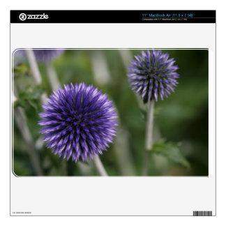 Purple ball skins for MacBook