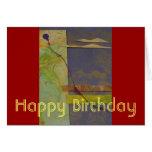Purple Balloon Card