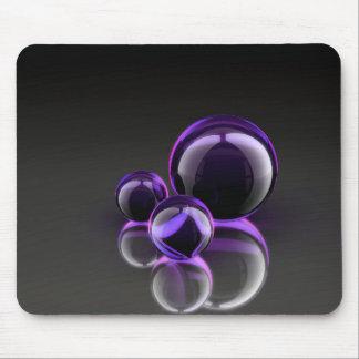 Purple_Balls_Wallpaper Mouse Pad