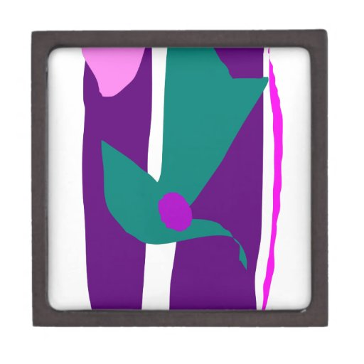 Purple Bamboo Decorated with Japanese Origami Premium Gift Boxes