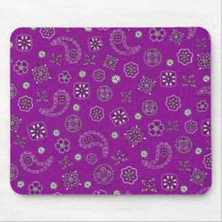 Purple Bandana Mousepad