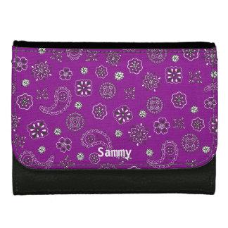 Purple Bandana Wallet