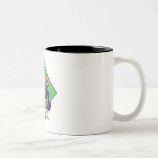 Purple Bandits v6 - button idea 1 Two-Tone Coffee Mug