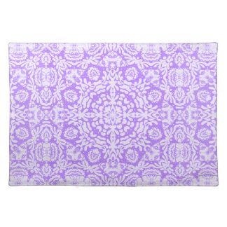 Purple Baroque Lace Placemat