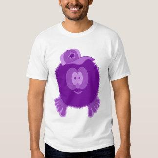 Purple Baseball Cap Pom Pom Pal T Shirt