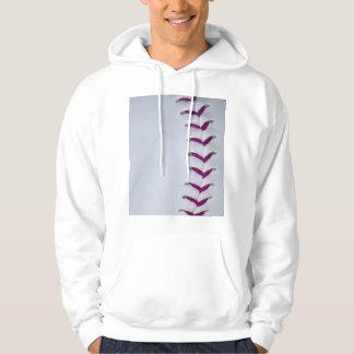 Purple Baseball / Softball Stitches Sweatshirt