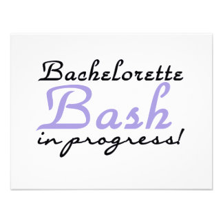Purple Bash in Progress Tshirts and Gifts Invite