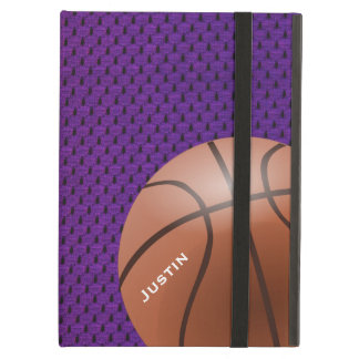 Purple Basketball iPad Case with Stand