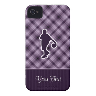 Purple Basketball iPhone 4 Cover