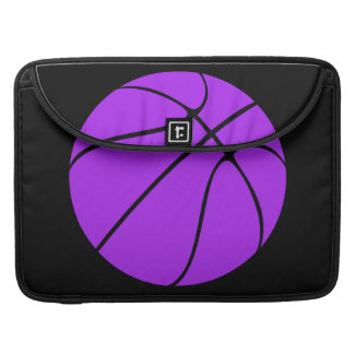 Purple Basketball Laptop Case Sleeve For MacBooks