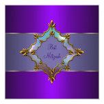 Purple Bat Mitzvah Announcements