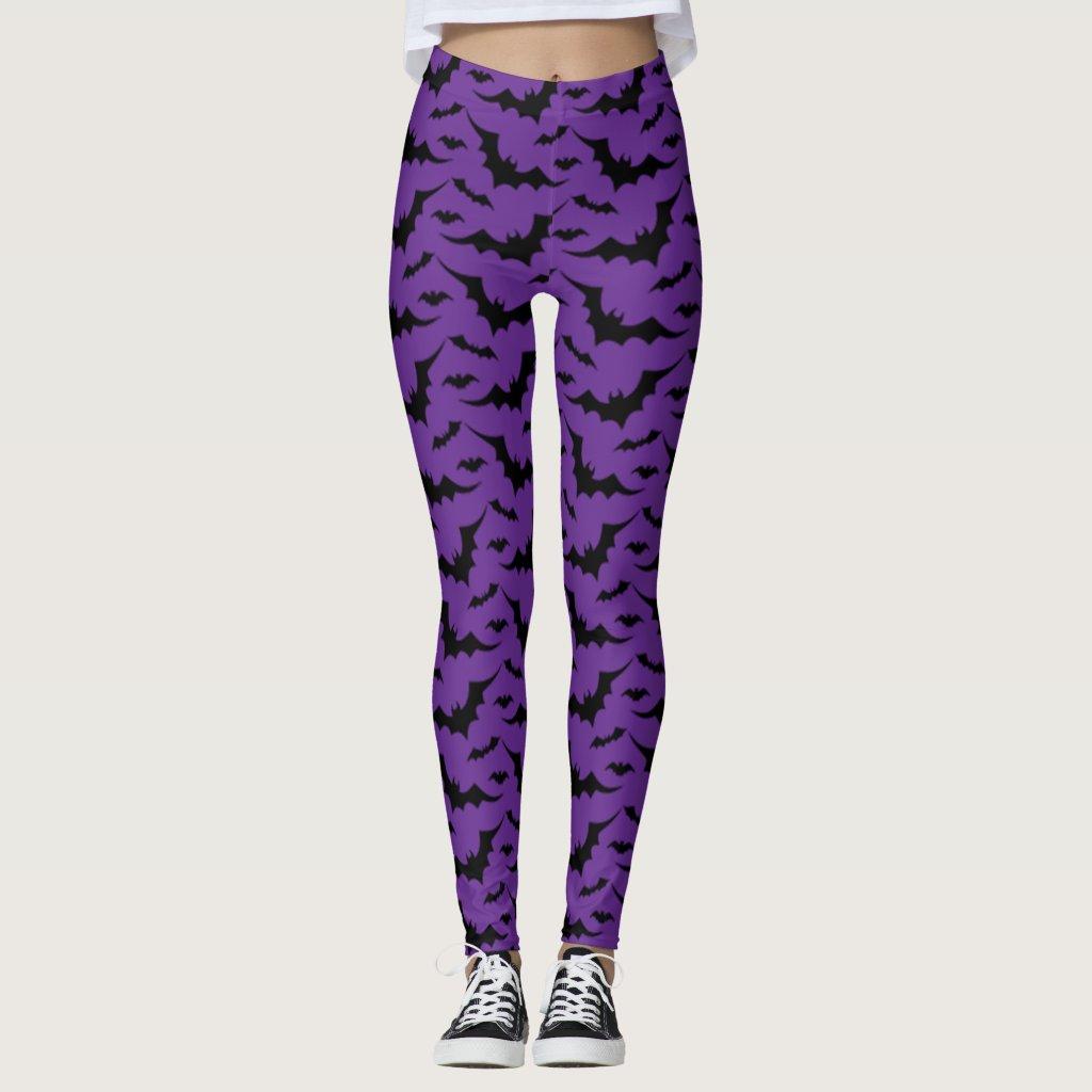 Purple Bat Pattern
