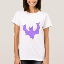Purple Bat. T-Shirt