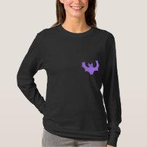 Purple Bat. T-Shirt