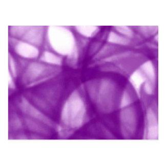 purple_batik_pattern postcard