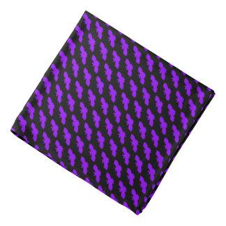 Purple Bats Gothic Punk Bandana