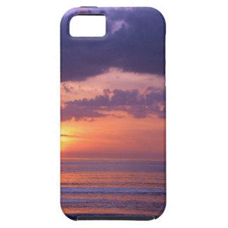 Purple Beach Sunset iPhone 5 Cover