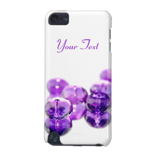 Purple Beads iPod Touch case