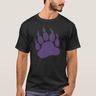 Purple Bear Paw T-Shirt