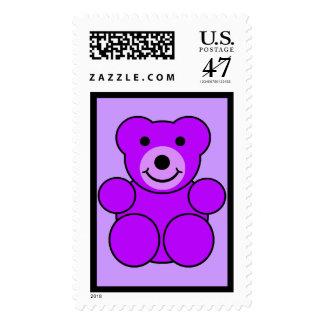 Purple Bear Postage