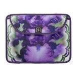 """Purple Bearded Iris 13"""" MacBook Sleeve Sleeves For MacBooks"""