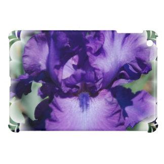 Purple Bearded Iris Cover For The iPad Mini