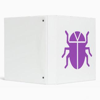 Purple Beetle Binder