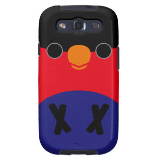 Purple-bellied Lory Galaxy S3 Cover