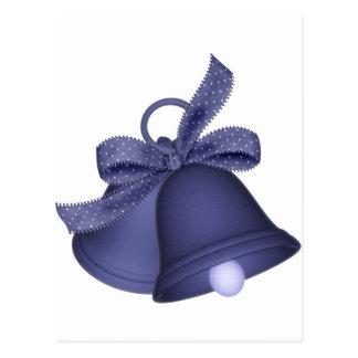 purple bells postcard