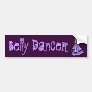 Purple Belly Dance Bumper Sticker