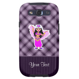 Purple Belly Dancer Galaxy S3 Cover