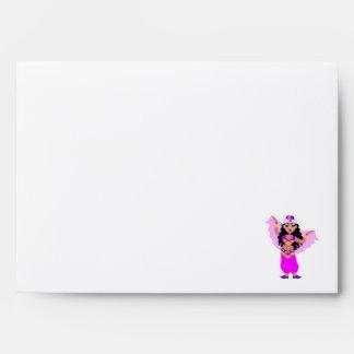 Purple Belly Dancer Envelopes