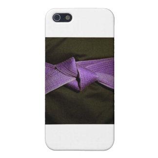Purple Belt iPhone SE/5/5s Case