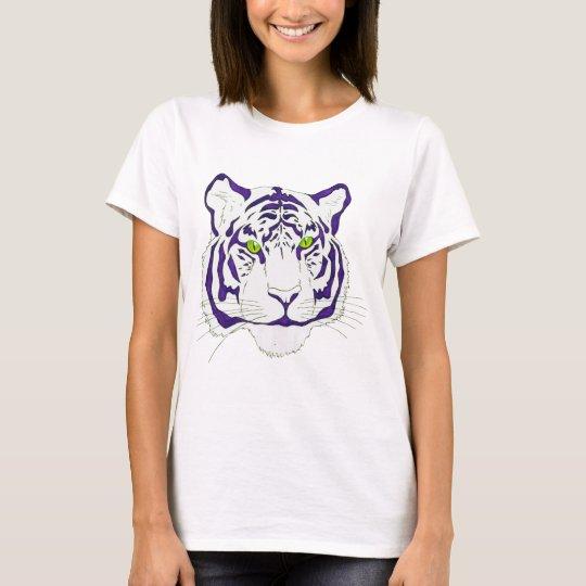 Purple Bengal Tiger T-Shirt