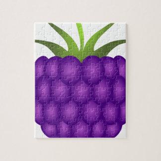Purple Berry Inspired Raspberry Puzzle