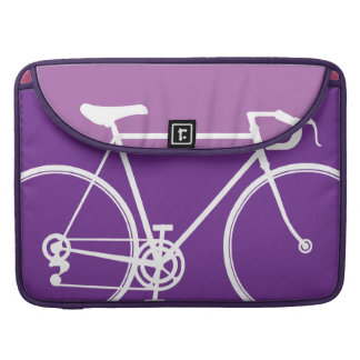 "purple Bike design Macbook Pro 15"" Laptop Case Sleeve For MacBook Pro"