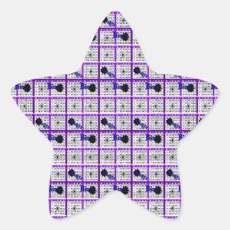 Purple Bingo Card Stickers