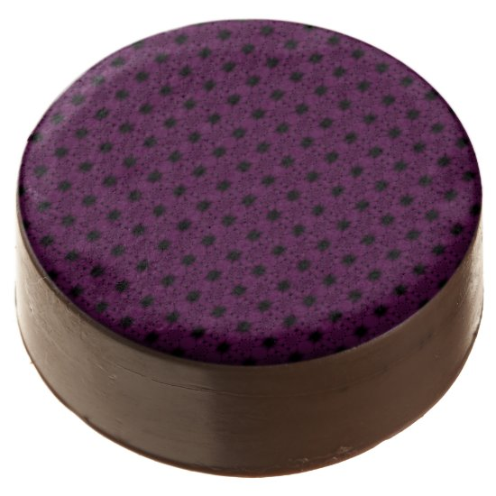 Purple Black Butterfly Petal - Tiles Chocolate Covered Oreo