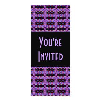 purple black card