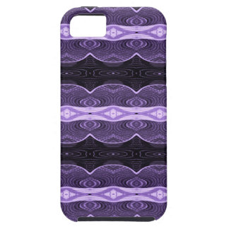 Purple black lace abstract iPhone SE/5/5s case