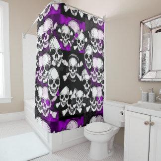 Skull Shower Curtains   Zazzle