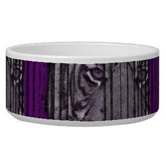 Purple Black Tiger Bowl