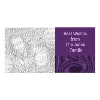 purple black  vibes card