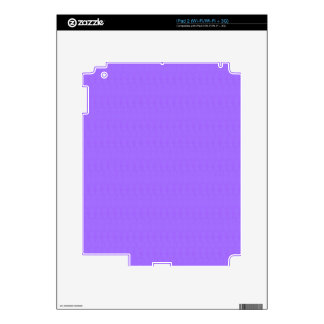 Purple Blank Texture Template DIY add TEXT IMAGE Decal For The iPad 2