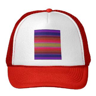 Purple Blanket Texture Mesh Hats
