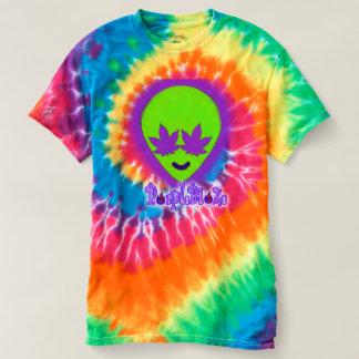 Purple BlaZe tyedye alien head shirt
